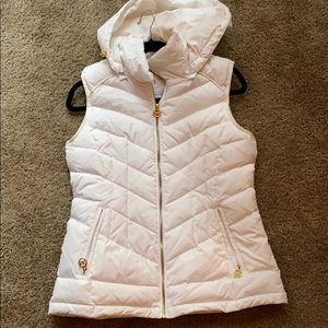 Puffy White Michael Kors Vest